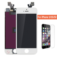 AAA Quality No Dead Pixel For Pantalla IPhone 5 Iphone 5s 5c LCD Display Screen With