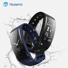 Teamyo Fitness bracelet cicret Smart watch blood pressure Heart rate monitor pedometer Smart wristband sport activity tracker