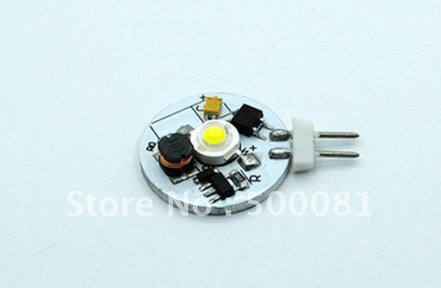 Free shipping G4 led household light 2W high power led,  8-30v input voltage, super bright, 50 pieces/Lot