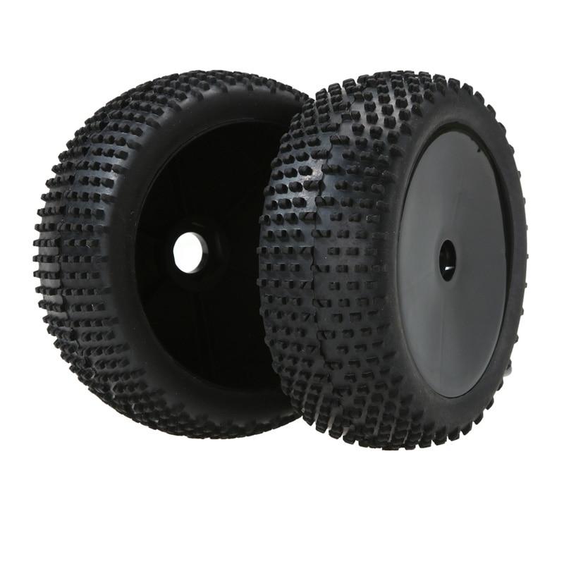 2PCS HSP 1:8 RC Model Off-Road Buggy Sponge Liner Tyre Tires Wheel Rim 4pcs set 140mm rc 1 8 monster truck tires tyre plastic wheel rims