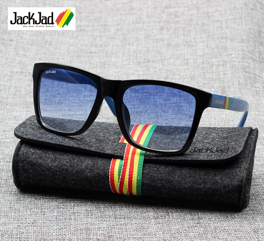 068f3193d01ff JackJad JJ2302 Estilo Quadrado Do Vintage óculos de Sol Das Mulheres Dos  Homens de Moda Gradiente Tendência Clássico Design Da Marca Óculos de Sol  Oculos de ...