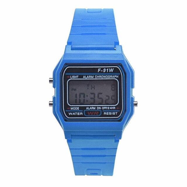 HONHX New Fashion Men's Digital Watches LED Digital Round Rubber Quartz Sport Waterproof Wristwatches relogio masculino 40 1