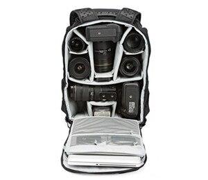 Lowepro ProTactic 450 AW Рюкзак для дождя Профессиональная зеркальная камера для двух Сумка для фотоаппарата/чехол на плечо сумка для камеры dslr 15 дюймов ноутбук