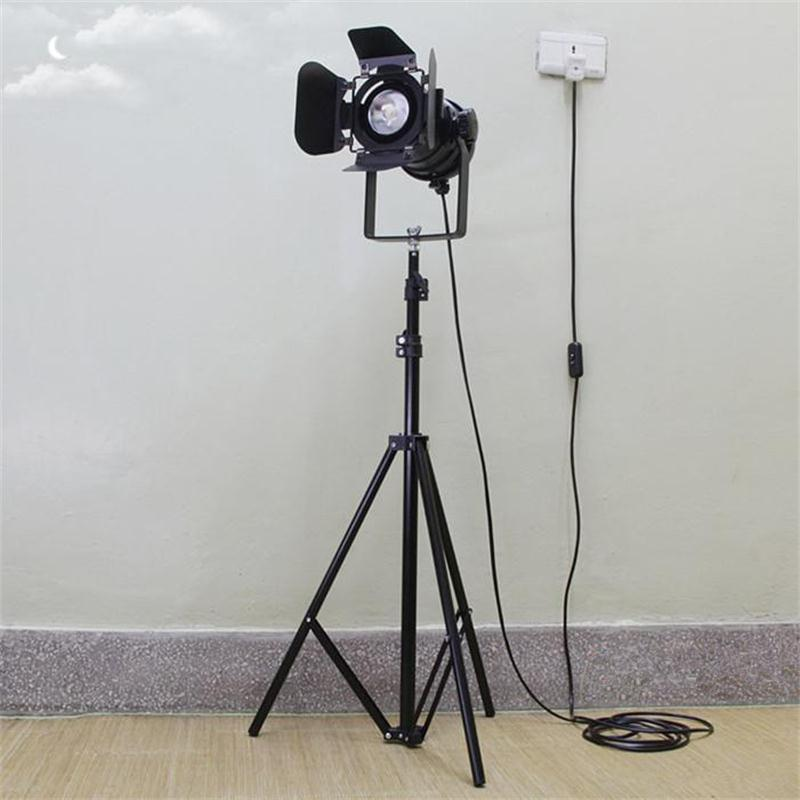 industrial loft floor lamps bar creative studio retro tripod black spot floor lights hotel restaurant vintage cheap floor lighting