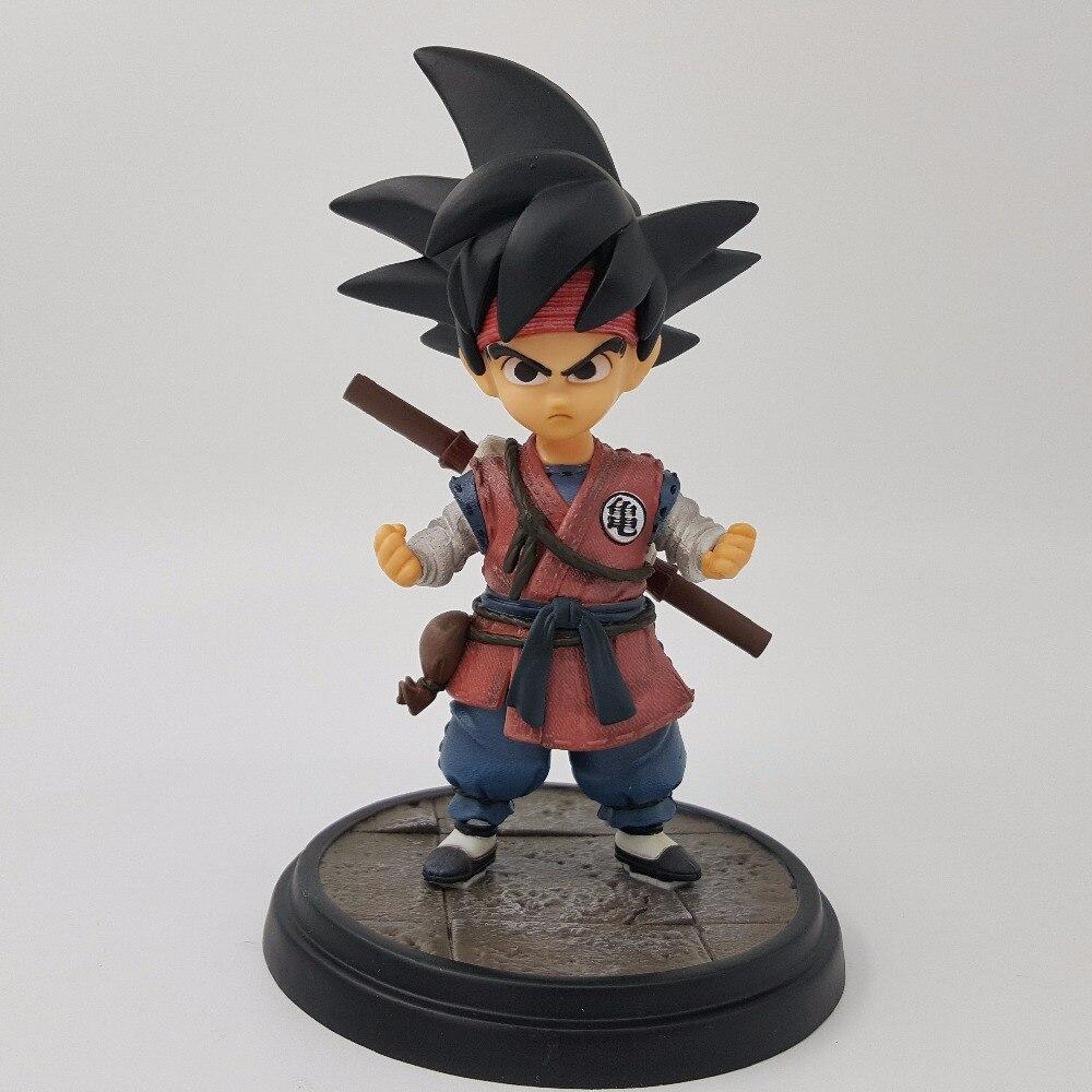 Dragon Ball Kid Son Goku Action Figure Super Saiyan Pvc