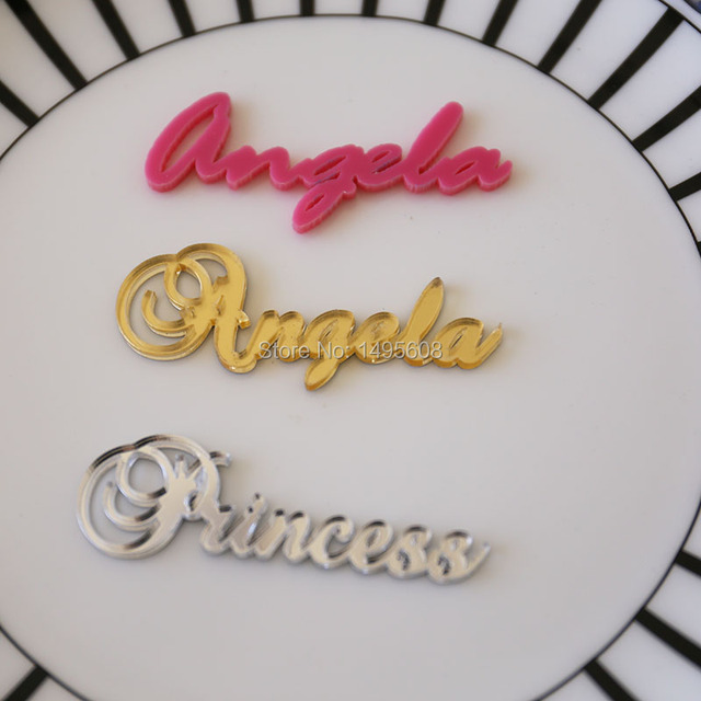Aliexpresscom Buy Acrylic Place CardsWedding GiftGuest Names