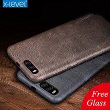 Бесплатная закаленное стекло! Новый чехол для Xiaomi Mi 6 тонкие мягкие кожаные сумки телефон Mi6 люксовый бренд оригинальный дизайн