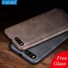 New back cover case For xiaomi mi 6 thin soft leather phone bags Mi6 Luxury brand original desgin