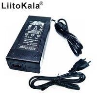 HK LiitoKala 48 V 2A şarj cihazı 13 Pil serisi şarj cihazı 54.6 V 2a Sabit akım sabit basınç dolu otomatik durdurma