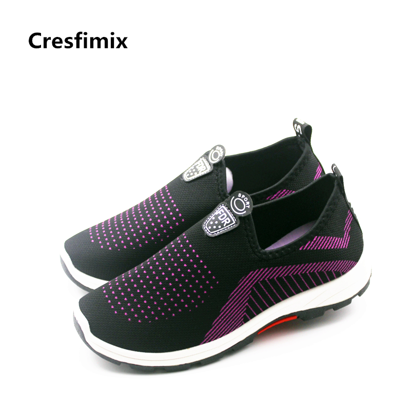 Cresfimix baskets mode femme women fashion spring & summer slip on flat shoes lady soft & comfortable black shoes cool shoes cresfimix femmes mignonnes chaussures plates women cute spring slip on flat shoes lady casual summer flats lady cool soft shoes