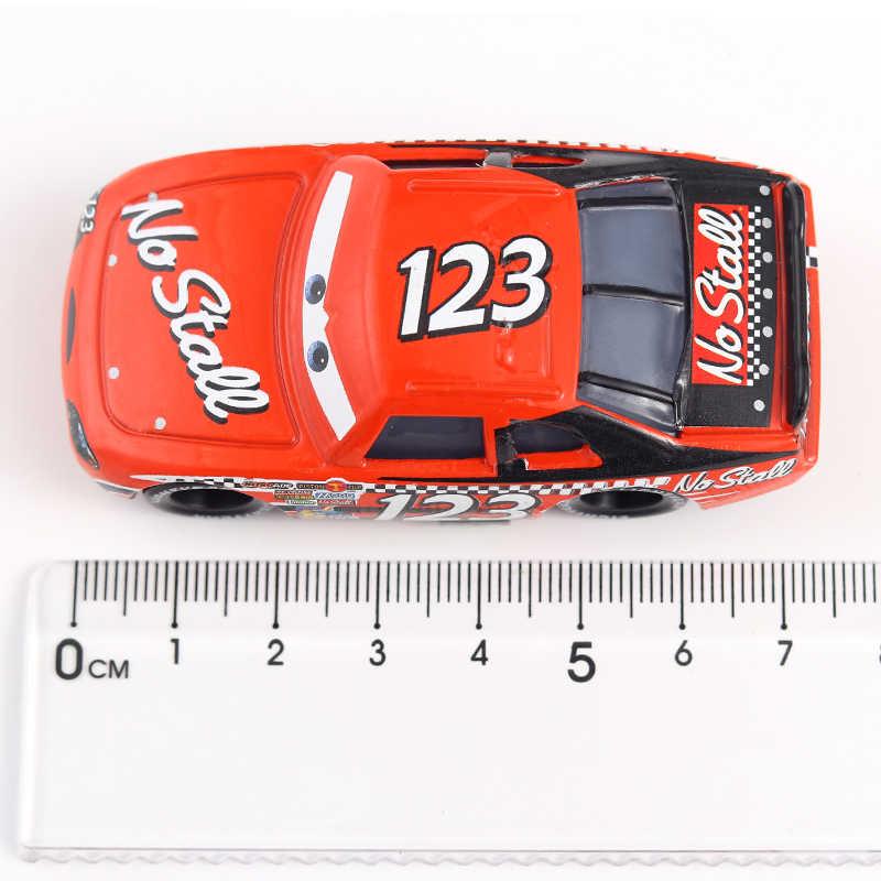 Disney Pixar Mobil 3 untuk Anak-anak Jackson Badai Cruz Ramirea Kualitas Tinggi Diecast Logam Mobil 2 Mainan Kartun Model Natal hadiah