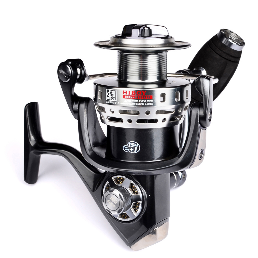 All metal head fishing wheel spinning wheel special free shipping