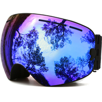 JULI Brand Professional Ski Sunglasses Double Lens UV400 Anti Fog Adult Snowboard Skiing Sunglasses Women Men