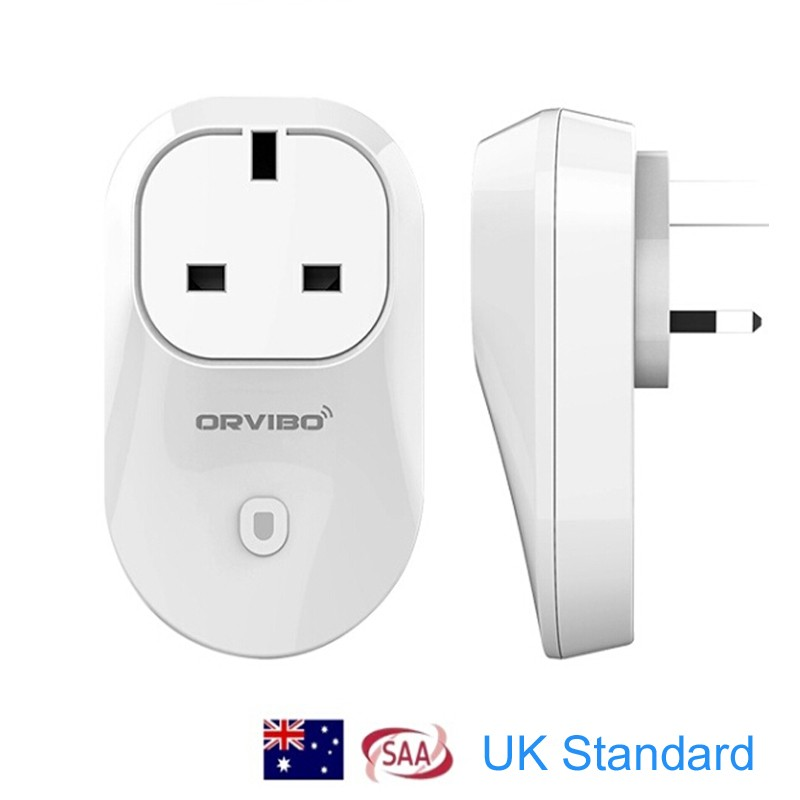 Big Discount ORVIBO S20 Wi-Fi Smart Socket Power plug switch Timing on/off your home appliance by Android/IOS app 20 orvibo allone wiwo r1 wifi ios android