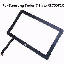 Original 11.6 de la tableta del panel de tacto para samsung series 7 slate xe700t1c xe700 touch pantalla digtiizer de repuesto lente de cristal