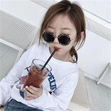 Steampunk Bee Kids Sunglasses Boys Girls Luxury Vintage Children Round Sun Glasses Oculos Feminino Accessories