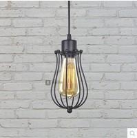 Country Retro Loft Industrial Pendant Lighting Lampe Vintage Lamp WIth Edison Bulbs ,Lamparas Colgantes Suspenison Luminairas