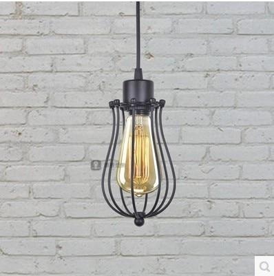 ФОТО Country Retro Loft Industrial Pendant Lighting Lampe Vintage Lamp WIth Edison Bulbs ,Lamparas Colgantes Suspenison Luminairas