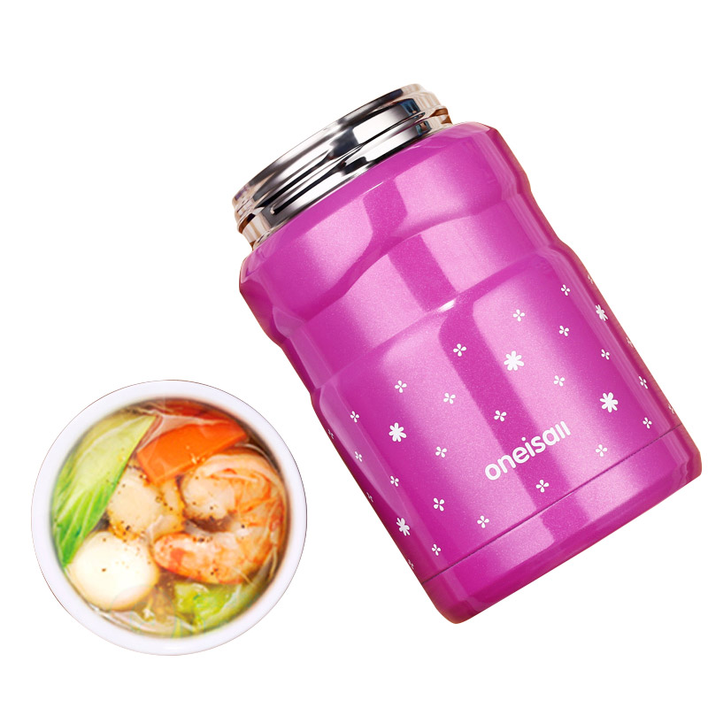 Stainless steel Baby Food Storage Thermos vacuum Benton 500ML no spill Thermal containers for storage hot Food Insulation Pot stainless steel vacuum coffee insulation pot