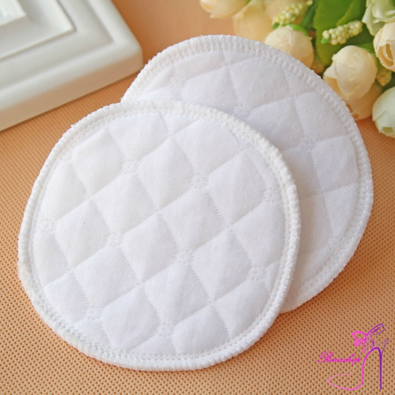 12 Pcs Reusable Breast Feeding Nursing Breast Pads Washable Soft Absorbent Baby Supplies YH-17