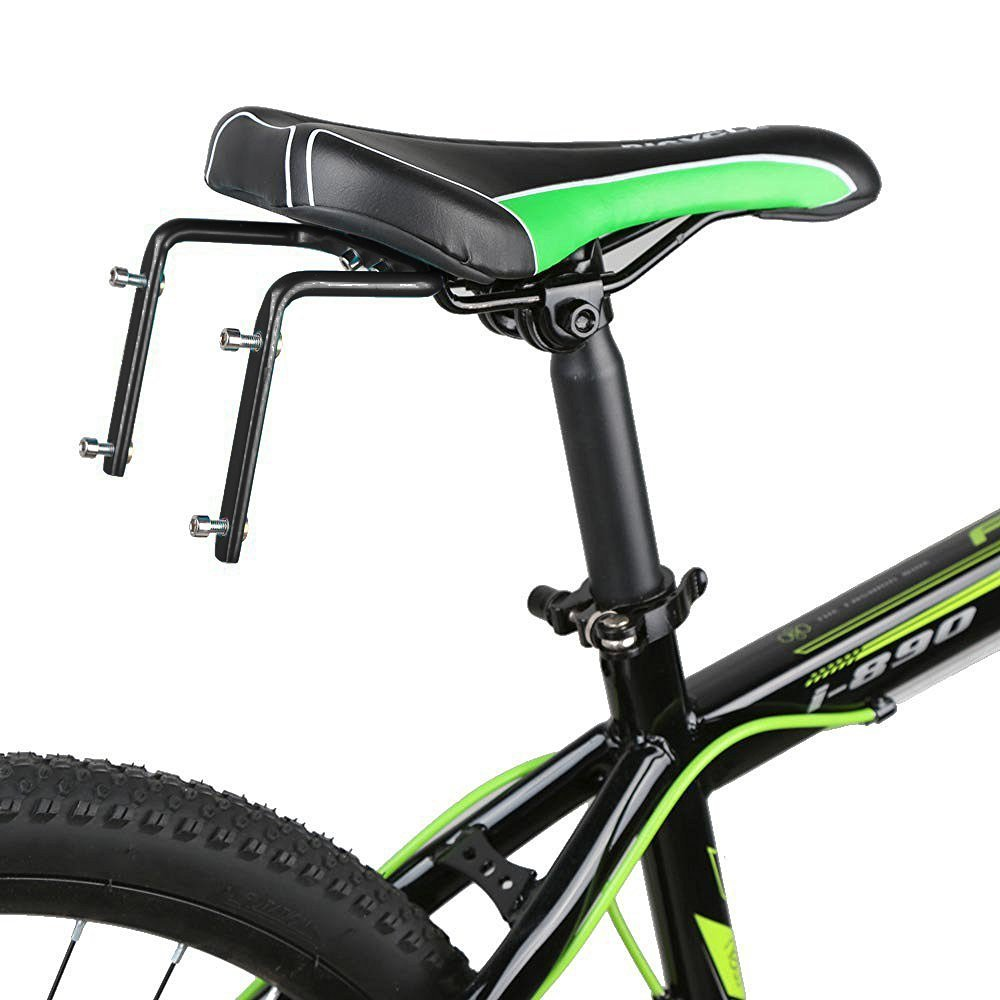 Double Water Bottle Holder Cage Adapter Rack for Bike Bicycle Cycling Back Seat Saddle FZT009
