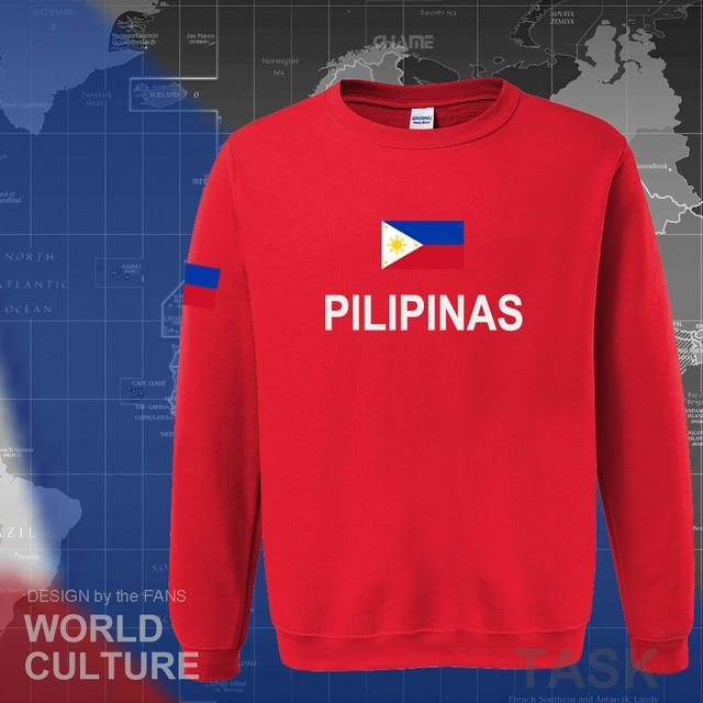 Philippines hoodies men sweatshirt sweat new hip hop streetwear clothing jerseys tracksuit nation Filipino flag PH Pilipinas 5