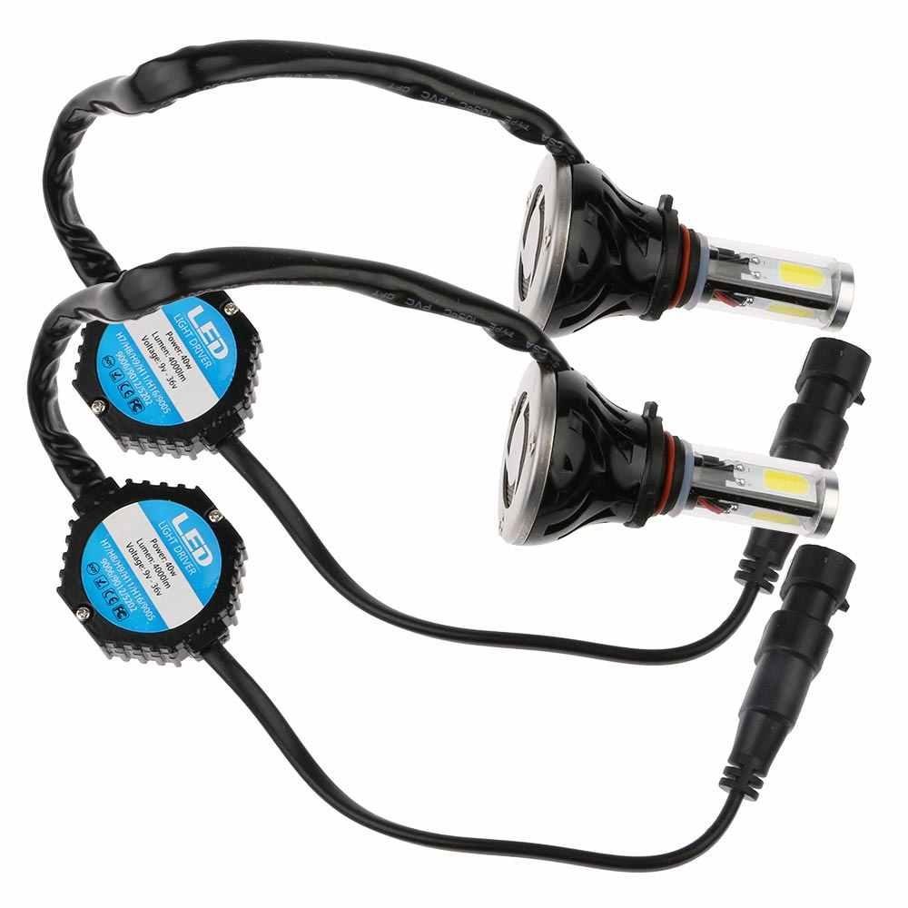1 Pair G5 40W 4000LM Auto Car LED Lighting Headlight Bulbs H1/H3/H7/H8H9/9005/9006/880 Bicycle Lights