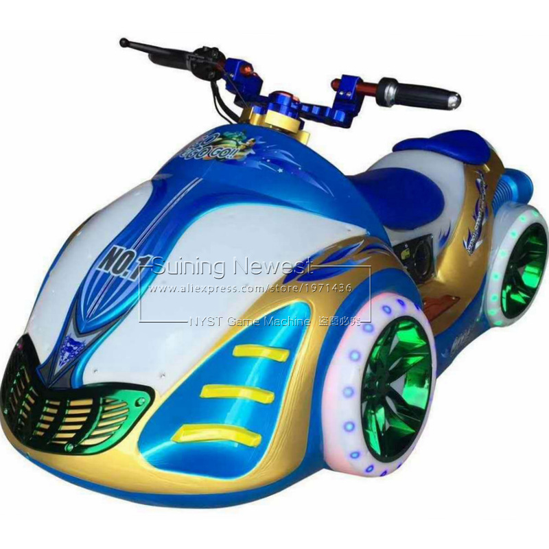 Children And Adults Amusement Park Fairground Moto Racing Game Machine  Kiddie Rides Playground Battery Bumper Cars