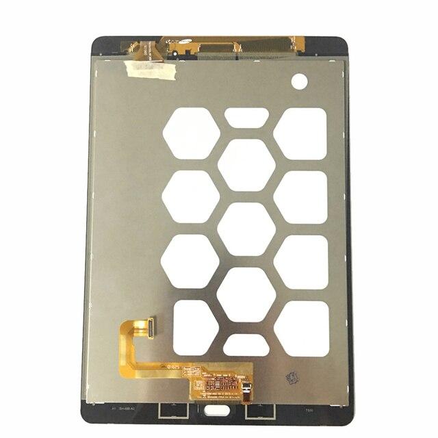 لسامسونج غالاكسي تبويب 9.7 SM-T550 T550 T551 T555 شاشة الكريستال السائل محول الأرقام بشاشة تعمل بلمس لوحي شاشات الكريستال السائل & لوحات