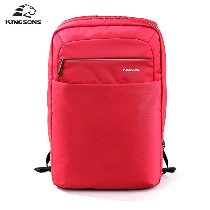 Kingsons Unisex Business Backpack 15.6 inch Academy Double Shoulder knapsack Travel Packsack School Bag Bolsas Mochilas