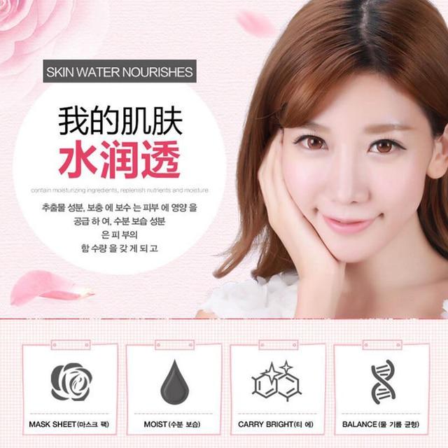 HANCHAN Rose Flower Petals Sleeping Mask Cream No Wash Moisturizing Night Cream Anti Aging Anti Wrinkle Nutrition Face Cream Face Mask & Treatments