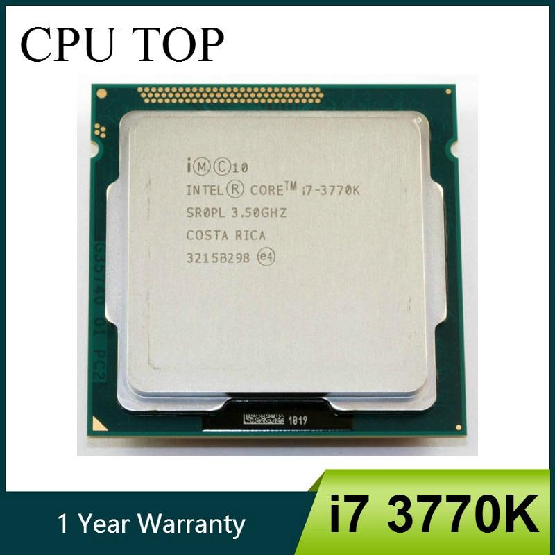 Intel i7 3770K четырехъядерный LGA 1155 3,5 ГГц 8 Мб Кэш с HD графикой 4000 TDP 77 Вт настольный процессор