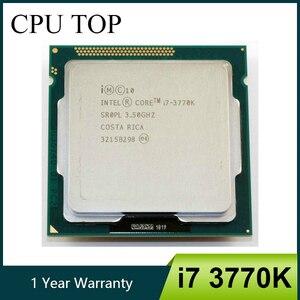 Image 1 - Intel processador i7 quad core, 3770k lga 1155 3.5ghz 8mb de cache com gráfico hd 4000 tdp 77w desktop cpu