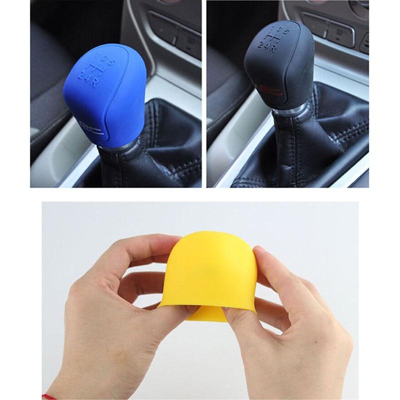 Car Shift  Handbrake Stall Cover For Hyundai HND3 Veloster I10 LPI 30blue R Cee Ix Tucson IX35 Verna Santa Fe Accent