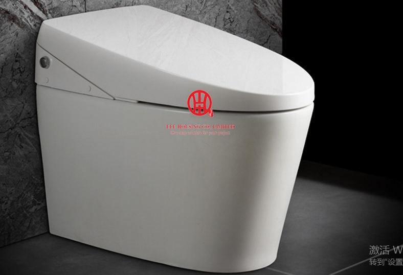 Intelligent Toilet Wc Smart Toilet Commode 220V Europe S-trap Factory Price Ceramic Mobile Toilet Bathroom Toilet