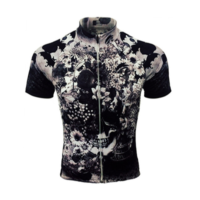 c0390768a 2018 top Lotus Skull pro team aero Reticulate middle sleeve men s Summer cycling  jersey bycicle equipment ciclismo customizin-in Cycling Jerseys from Sports  ...