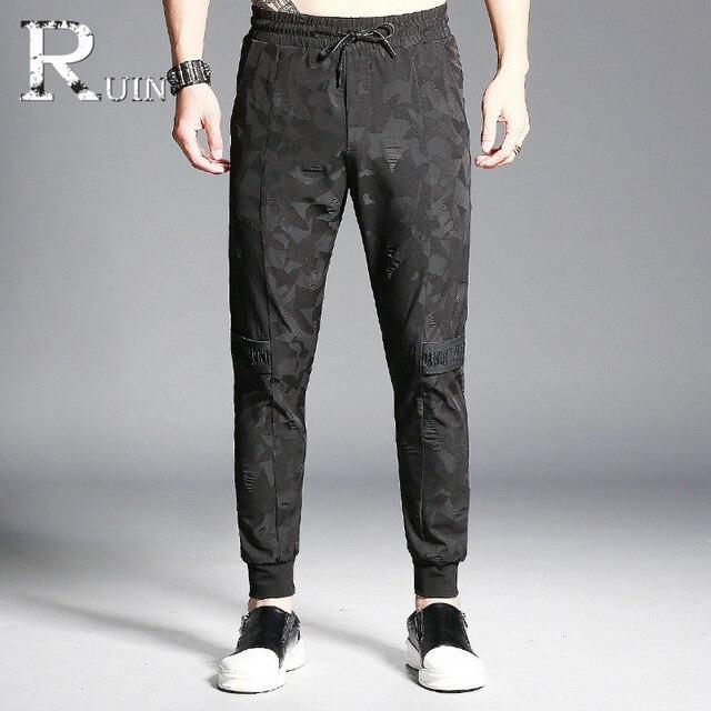 Pantalones juventud Nuevo casual chándal ropa de hombres pantalones Pantalones 2017 Pantalones harem hombres Pantalones Jogger n4X5dqH