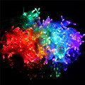 3x3M 12W Multicolor 432 LED Outdoor Light Christmas Party Fairy String Light Wedding Curtain Lamp With Power Adapter AC220V