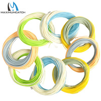 Maxcatch 100FT Fly Fishing Line Weight Forward Floating Fly Line Multy Color And Size To Choose