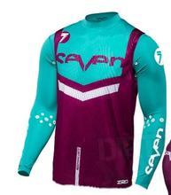2019 Sette motocross jersey discesa Manica Lunga Moto Jersey mountain bike shirt moto abbigliamento
