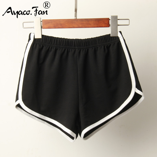 Sports New Candy Color Skinny Shorts Casual Elastic Waist Beach Short Pants 3