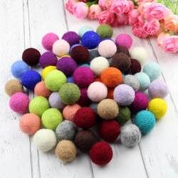 100 шт. 2 см разные цвета ручной работы войлочные шары для поделок