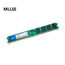 MLLSE New Sealed DIMM DDR2 800Mhz 2GB PC2-6400 memory for Desktop RAM,good quality!compatible with all motherboard!