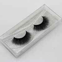 1 Pair Charming Soft Handmade 3D Pure Mink Fur Natural Long Thick False Eyelashes Eye Lashes Extension Beauty Makeup Tools False Eyelashes