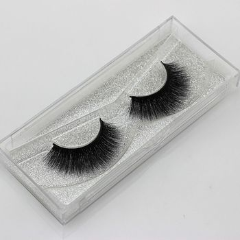 1 Pair Charming Soft Handmade 3D Pure Mink Fur Natural Long Thick False Eyelashes Eye Lashes Extension Beauty Makeup Tools False Eyelashes