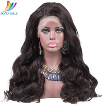 hot deal buy brazilian human hair full lace wigs for women remy body wave natural color full lace human hair wigs with baby hair