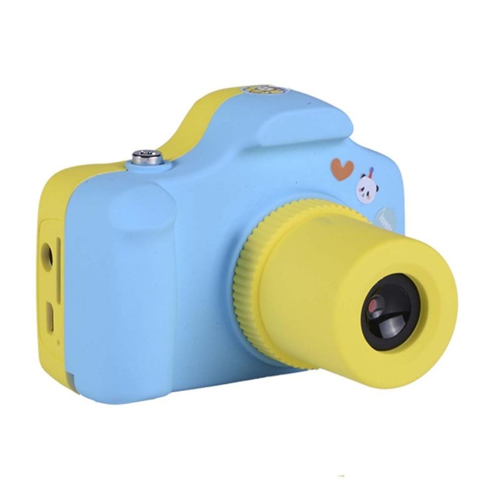 5.0MP Kids Children Digital Camera 1.5 inch LCD Screen Cute Design Mini Camera Christmas Birthday Gift Small SLR Photo Video