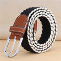 New stretch knit elastic waistband spot canvas men's women's belt belts