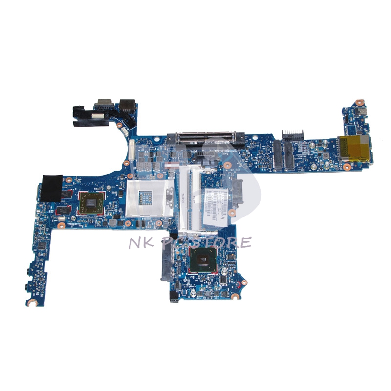 NOKOTION 642753-001 MAIN BOARD For <font><b>Hp</b></font> Elitebook 6460P <font><b>8460p</b></font> Laptop <font><b>Motherboard</b></font> QM67 HD6470M DDR3 image