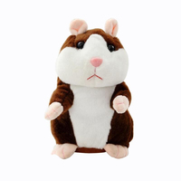 StZhou Talking Hamster Mouse Pet Plush Toy Hot Cute Speak Talking Sound Record Hamster Educational Toy